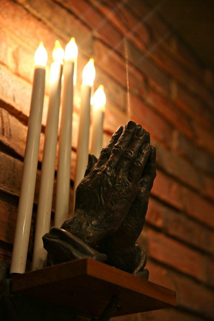 praying hands, chapel, umc, east alton first untied methodist church