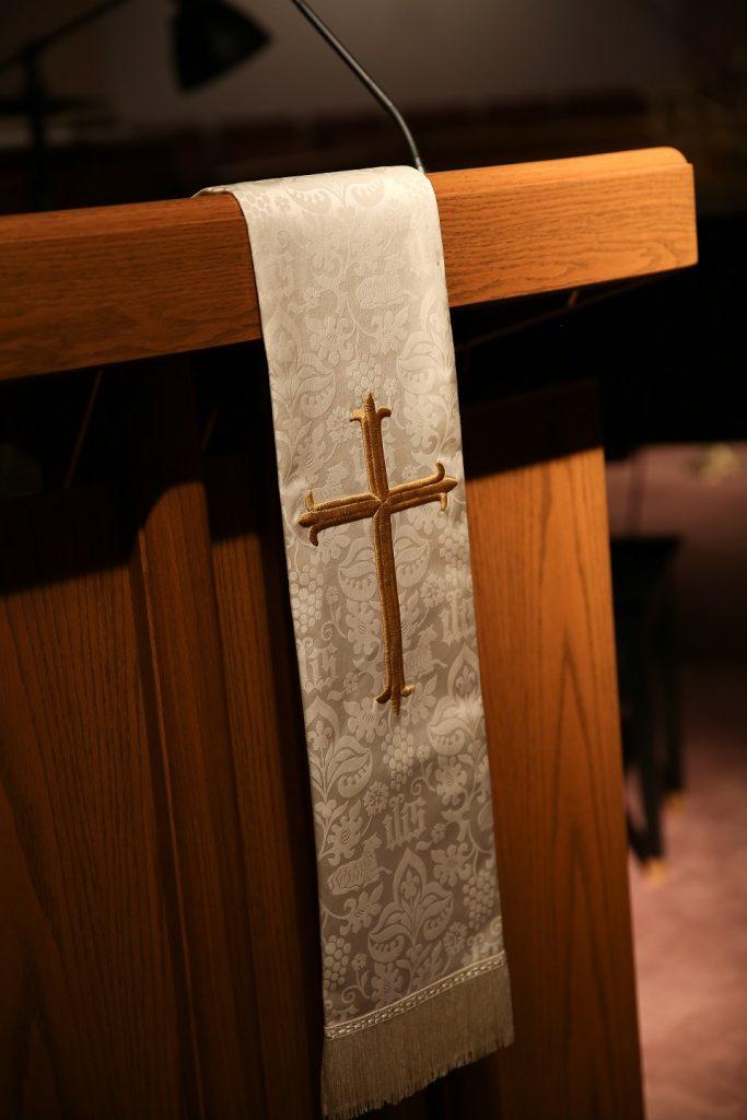 lectern, sanctuary, umc, east alton first united methodist church