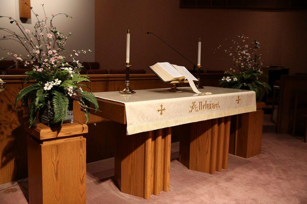 sanctuary, alter, umc, east alton first united methodist church